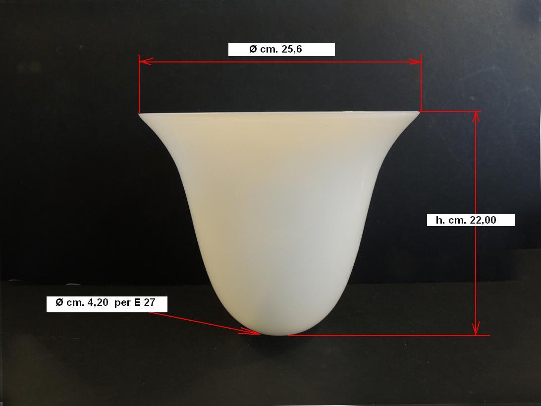 lampadari vicenza : Vetri di ricambio per lampadari: Vetro per lampada Mazda art. V51 ...