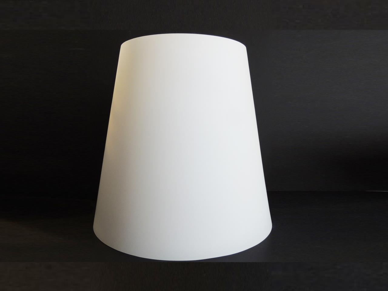 Vetri di ricambio per lampadari paralume in vetro bianco per lampada rossi illuminazione vicenza - Paralumi per lampade da tavolo ...