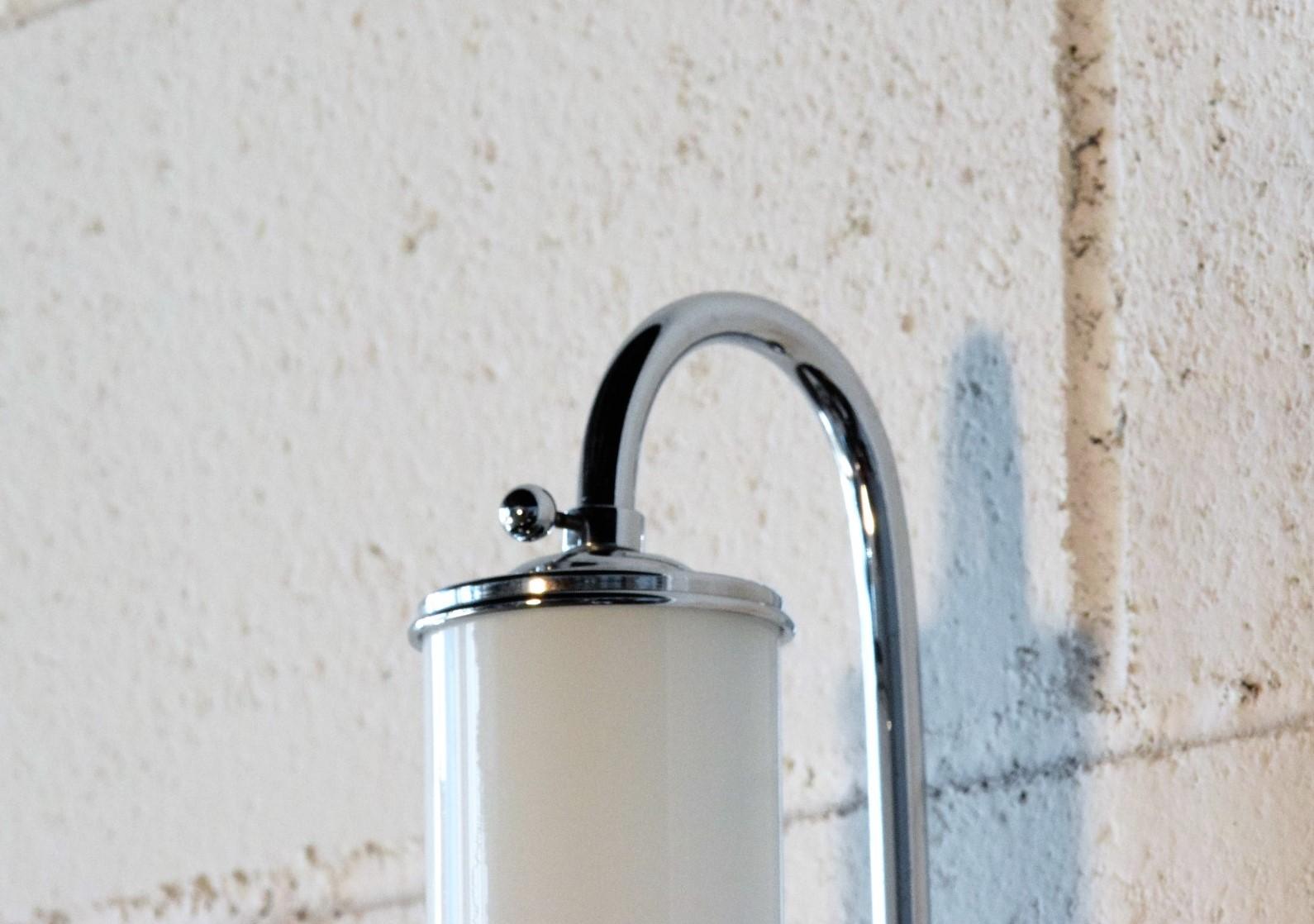 Lampade a parete applique da bagno stile inglese rossi - Lampade da bagno a parete ...