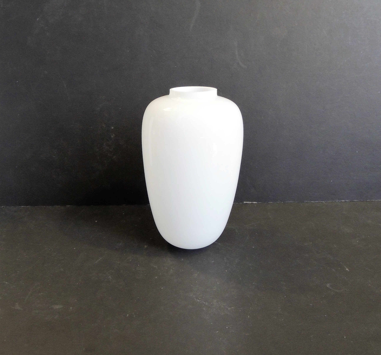 Vetro di ricambio bianco in fiore calice forma