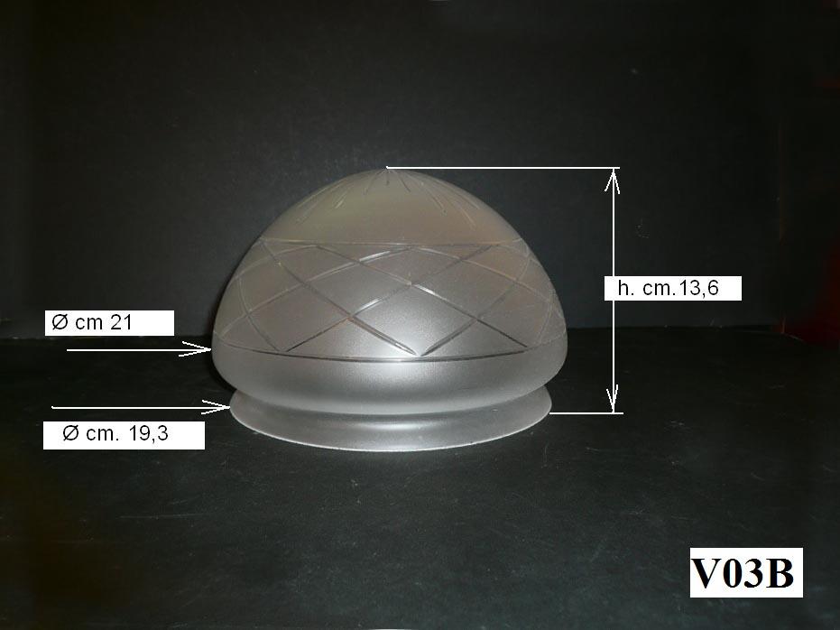 lampadari vicenza : ... lampadari: Vetro pigna centrale art. v03 Rossi Illuminazione VICENZA