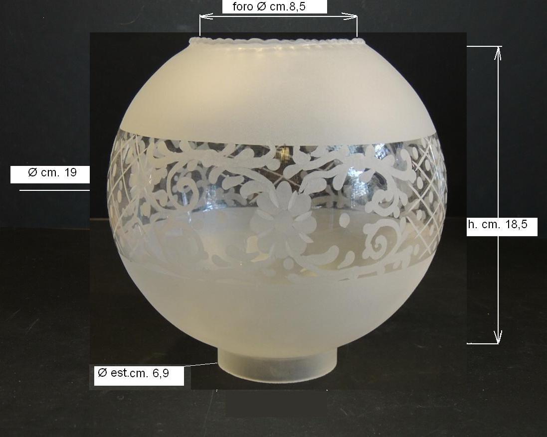 Lampada a sospensione con sfere di vetro illuminazione e luci