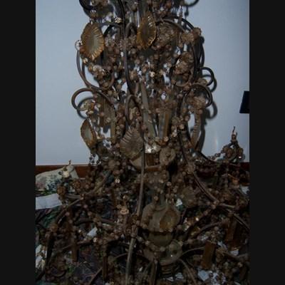 Restauro lampadari: Restauro lampadari a gocce di cristallo | Rossi ...